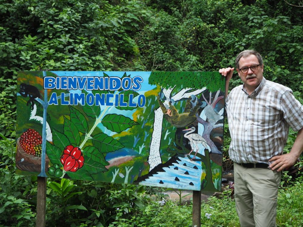 """Ein freundlicher und bunter Empfang auf """"El Limoncillo"""""""